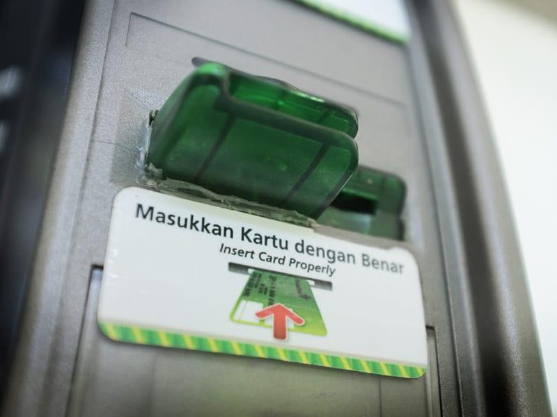Bali ATM skimming