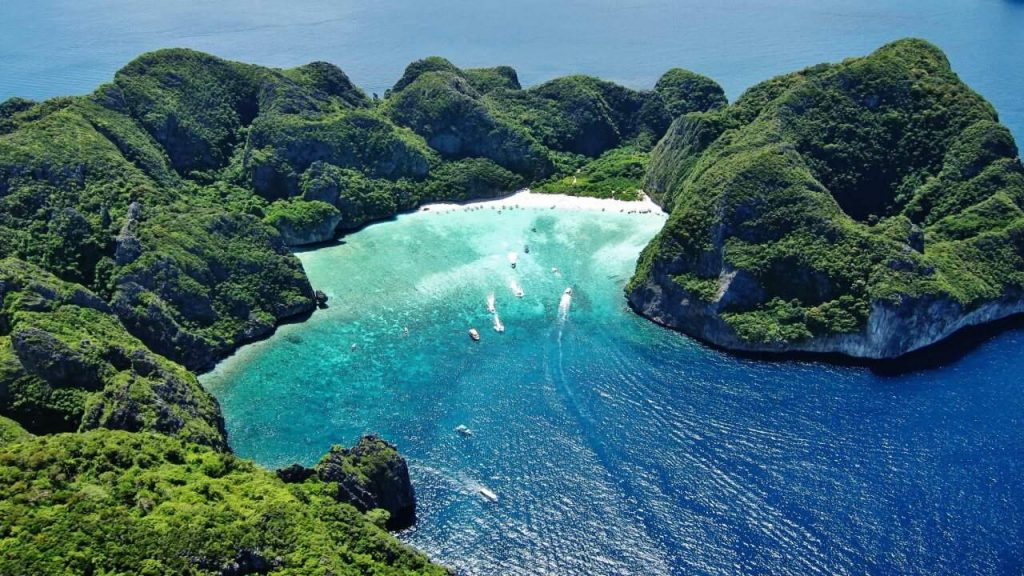 Maya Bay. Phi-Phi Island