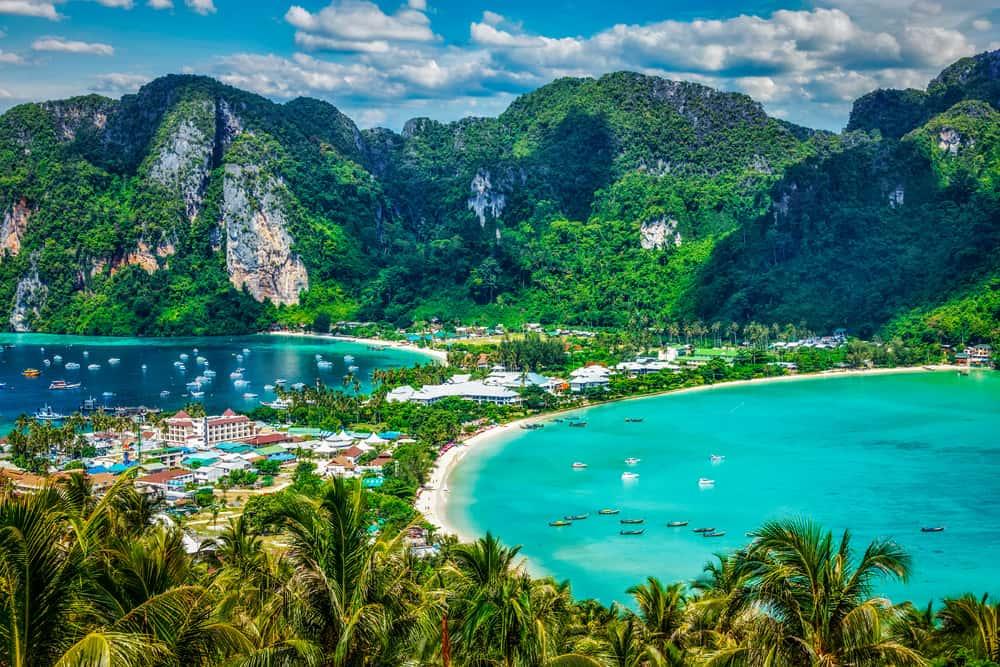 Phi-Phi-island. Вид со смотровой площадки