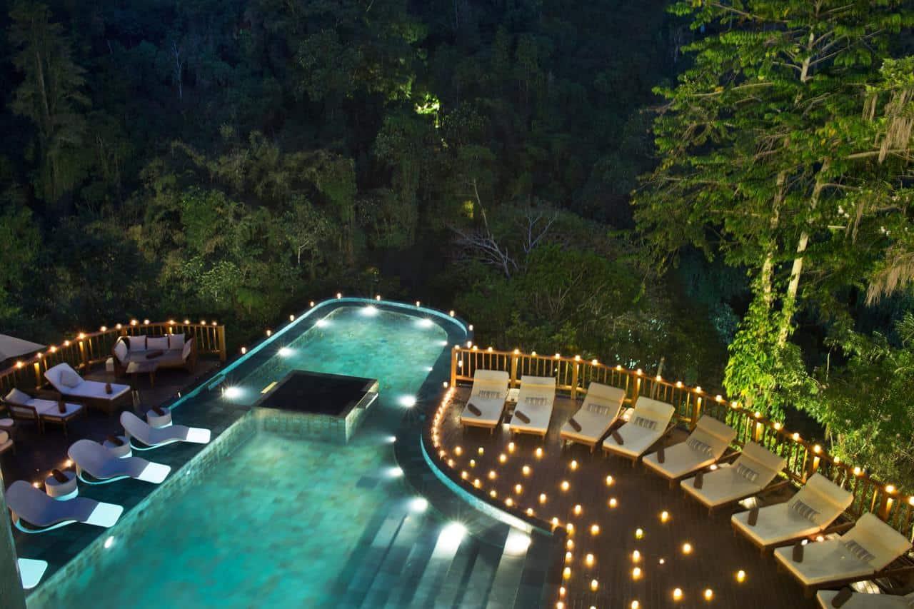 Hanging Gardens of Bali - отель на Бали с одним из самых лучших бассейнов в мире