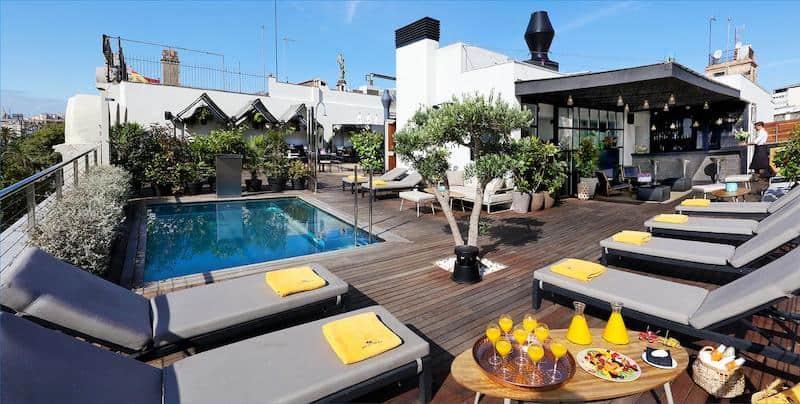 Hotel The Serras - лучшие бутик-отели Барселоны
