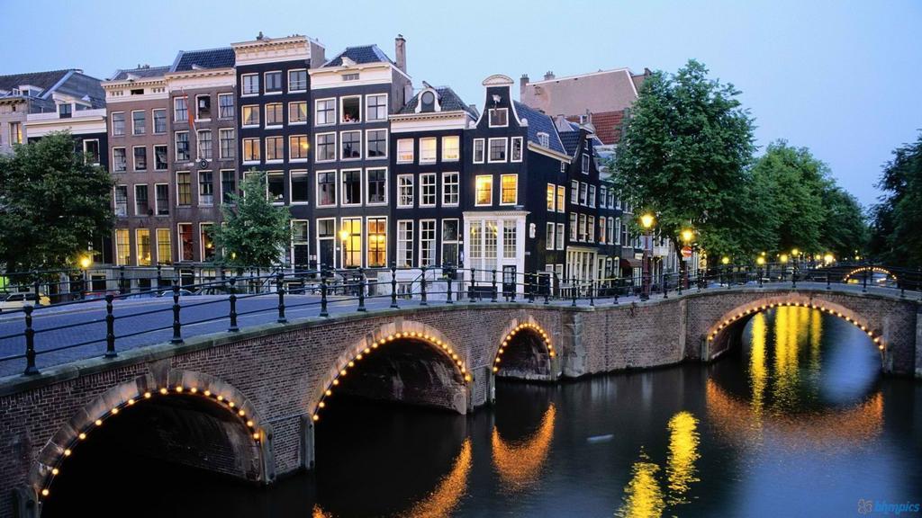 Каналы Амстердама - Amsterdam Canals