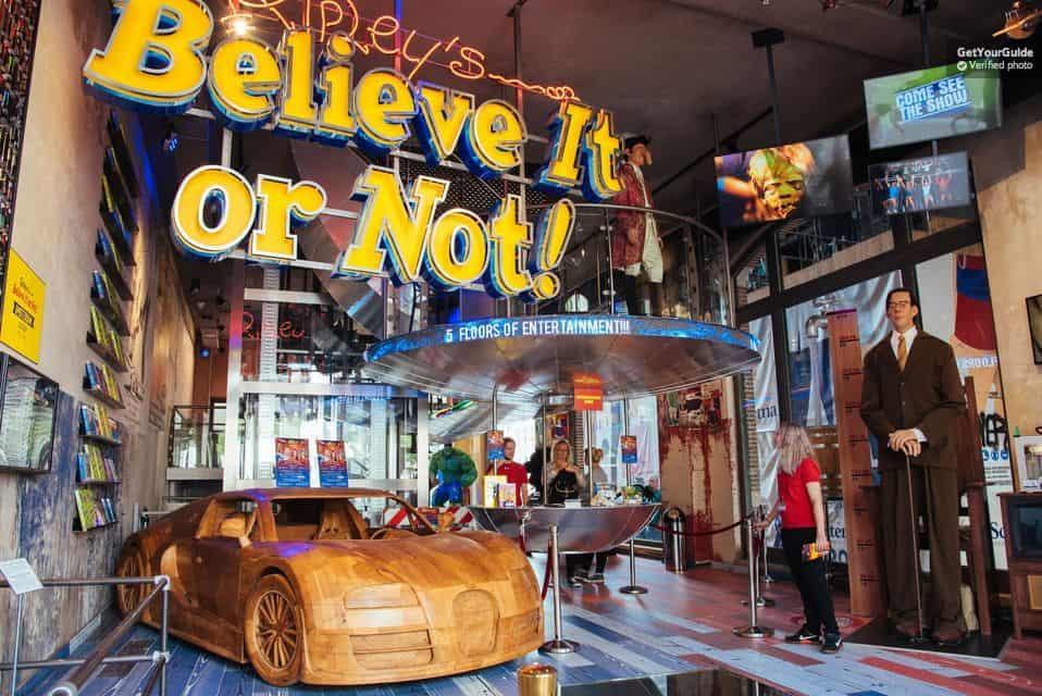 Ripley's Believe It or Not! Amsterdam - Достопримечательности города Амстердам