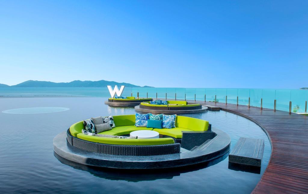 Пляж отеля W-Retreat Koh Samui