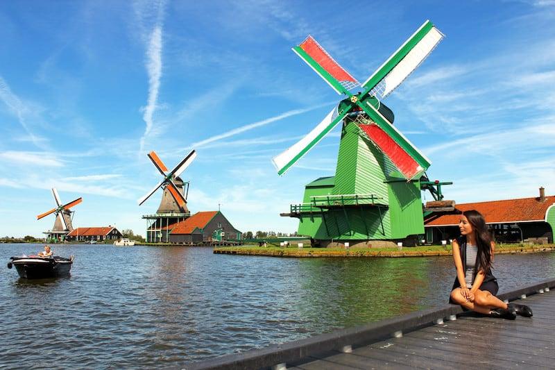 Заансе-Сханс - музей под открытым небом в Амстердаме