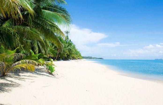 Пляж Мае Нам - Maenam beach