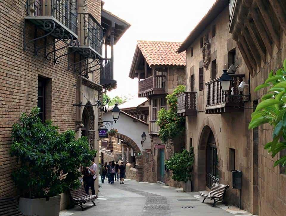 Испанская деревня - Poble Espanyol - Барселона и окрестности