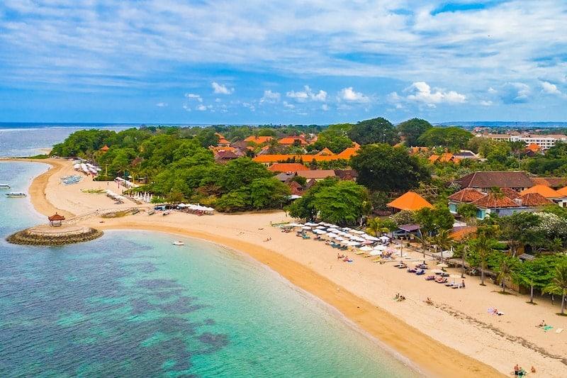 Санур - Лучшие пляжи Бали
