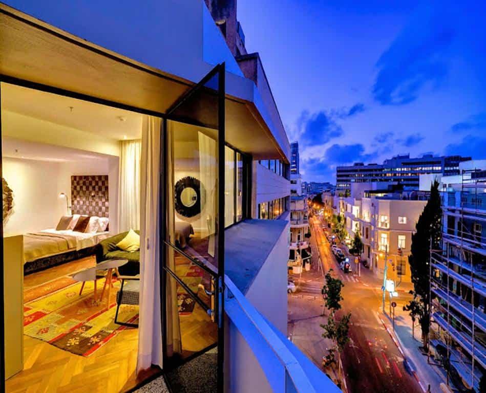 Самые интересные отели Тель-Авива: Brown Hotel