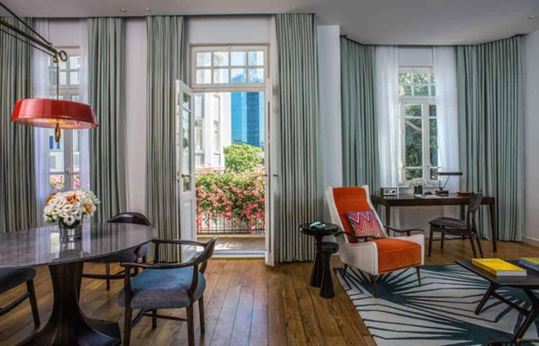 Один из лучших отелей Тель-Авива - The Norman