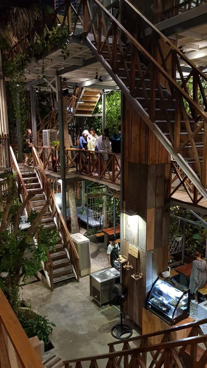 Rainforest - необычное кафе в Нячанге