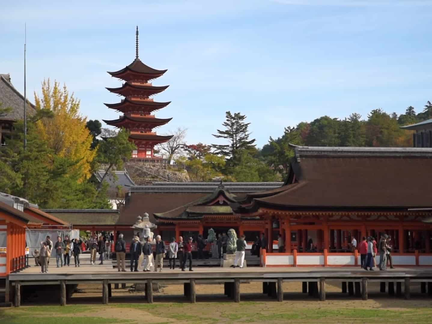 Храм Ицукусима - достопримечательности острова Миядзима