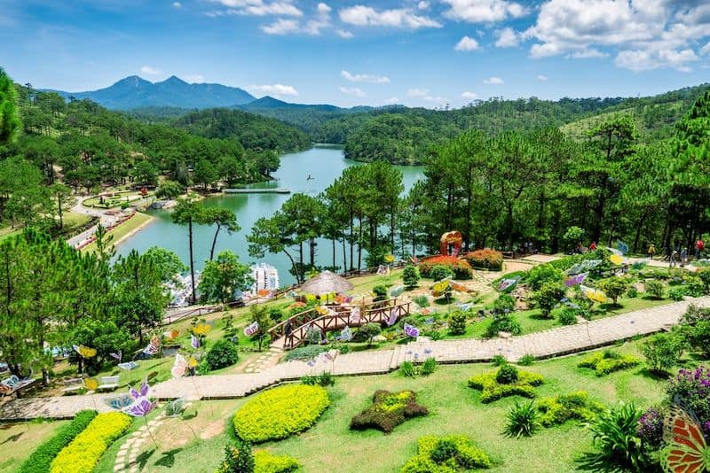 Достопримечательности города Далат, Вьетнам: парк Valley of Love