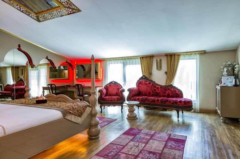 Hotel Sultania Boutique Class - бутик отель в центре Стамбула